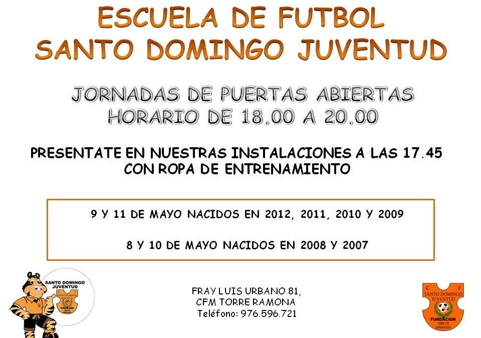 En mayo, ¡¡¡Ven a conocer nuestra escuela de fútbol !!!